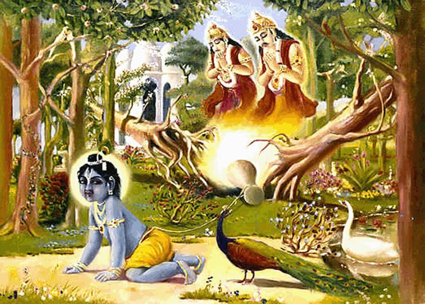 Supreme-Lord-as-Bala-Gopal-in-Vrindavan