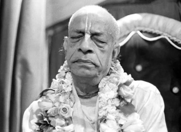 Srila Prabhupada in meditation