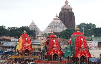 Ratha Yatra celebration at Puri