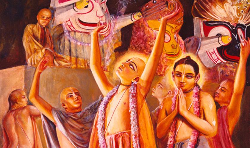 Chaitanya Reside Near Lord Jagannatha