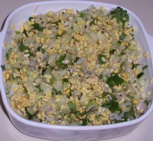 Cabbage Kosambari