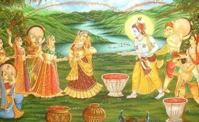 Holi in Krishna land