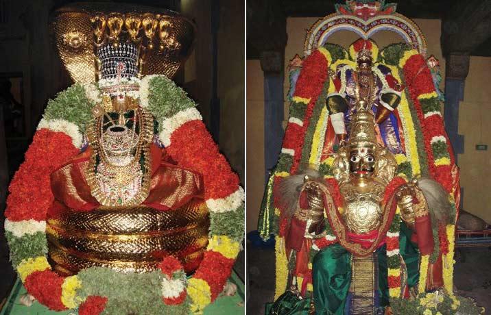manavala mamuni in the temple