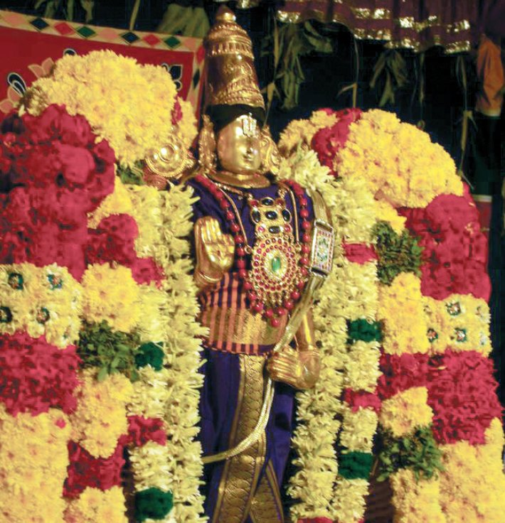 lord during vaikunda ekadasi