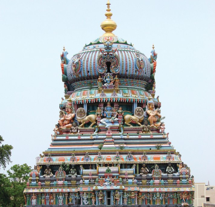 the main Vimana