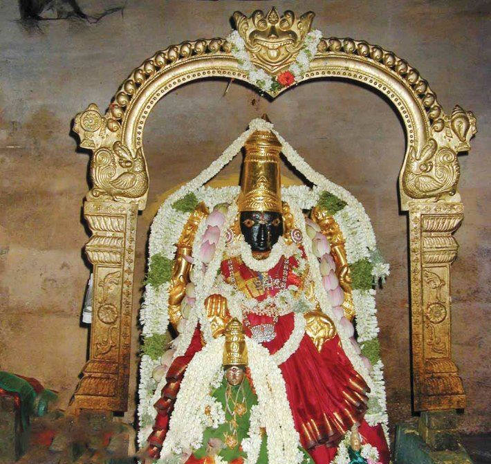 mother lakshmi the consort of adi jaganatha in the temple