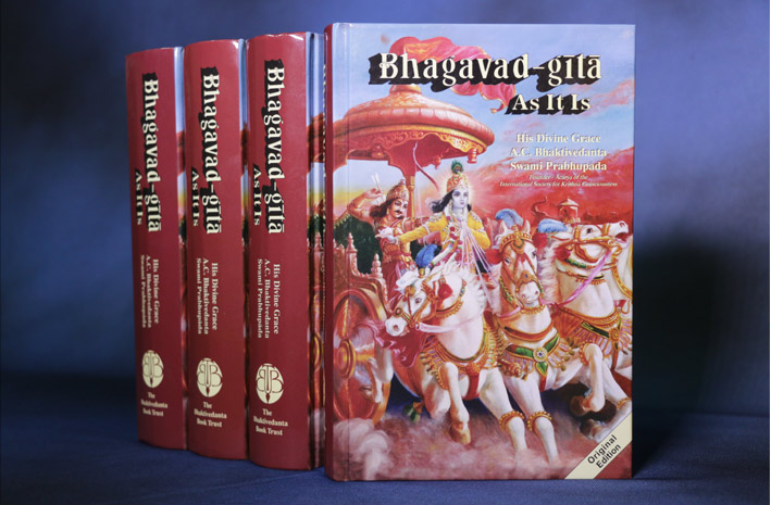 Read the Bhagavad gita