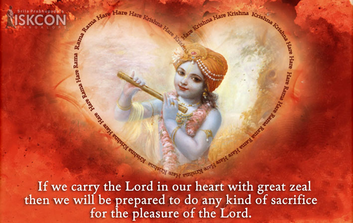 carry lord in the heart