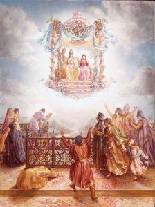 Diwali- Rama returns to ayodhya
