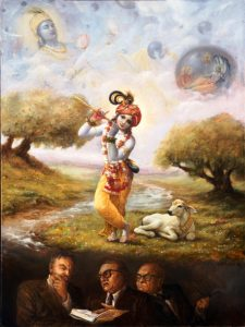 impersonalists decoding Krishna