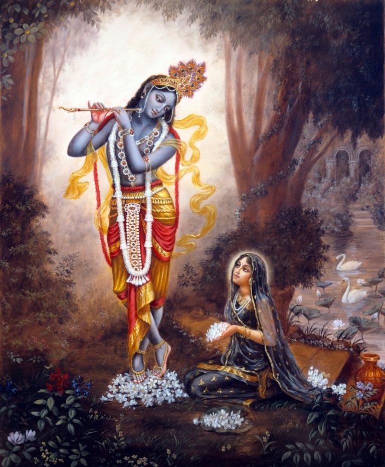 Mukti- Radharani- The topmost devotee