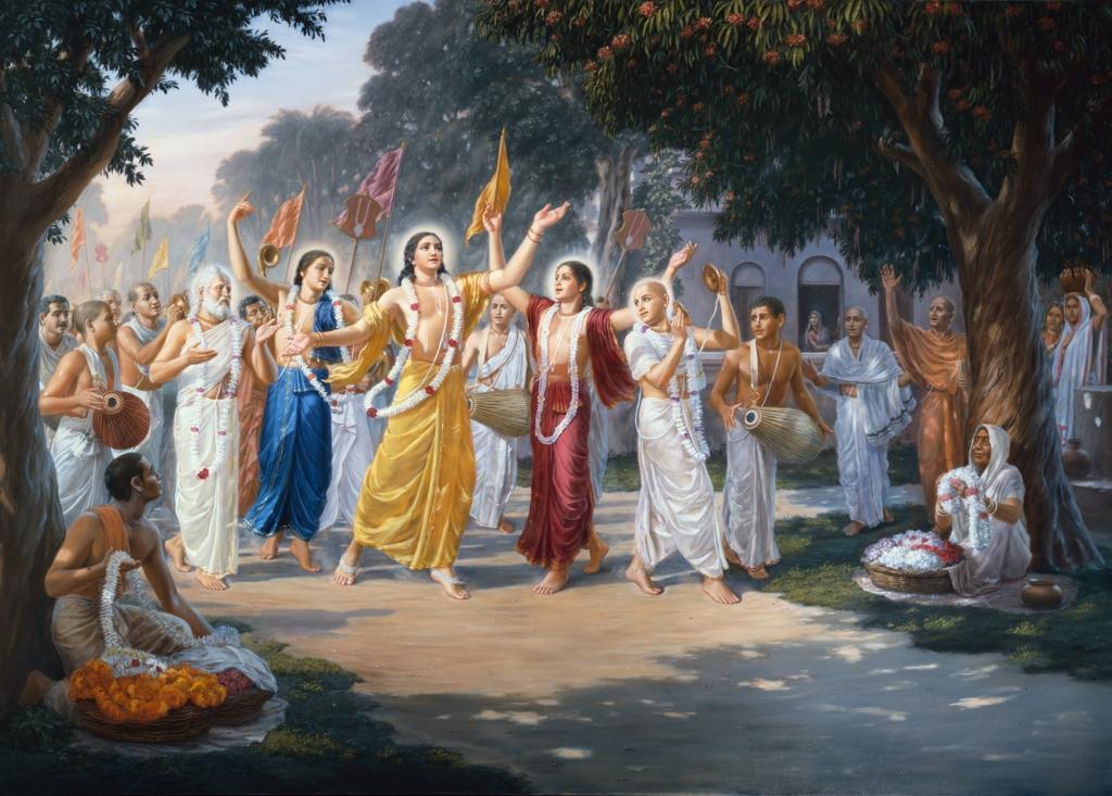 Lord Chaitanya Mahaprabhu's Harinama Sankirtana