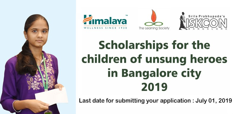 Scholarship for Students - ISKCON Bangalore