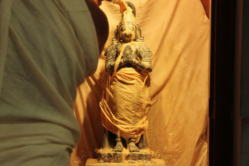 Abhisheka to Sri Hanuman