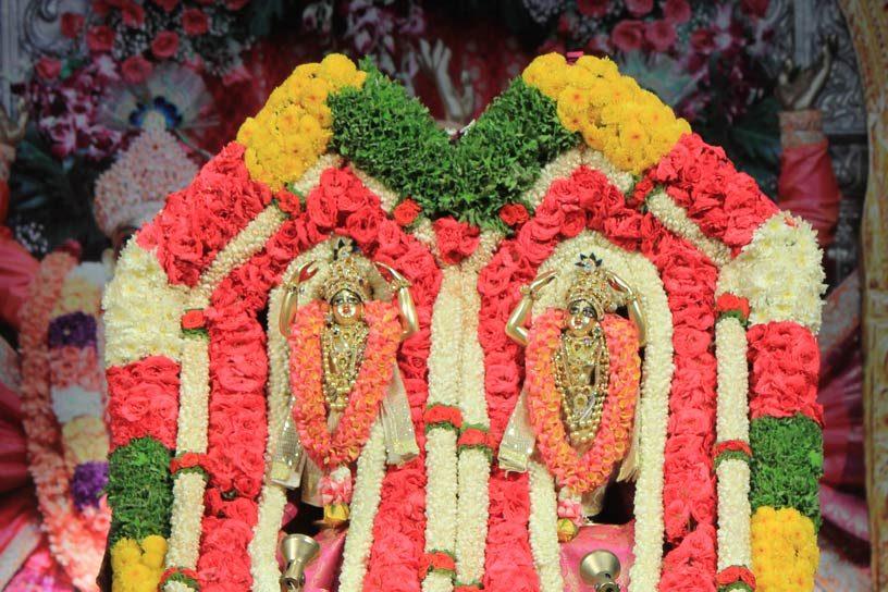 Panihati Chida-dahi festival Special Alankara