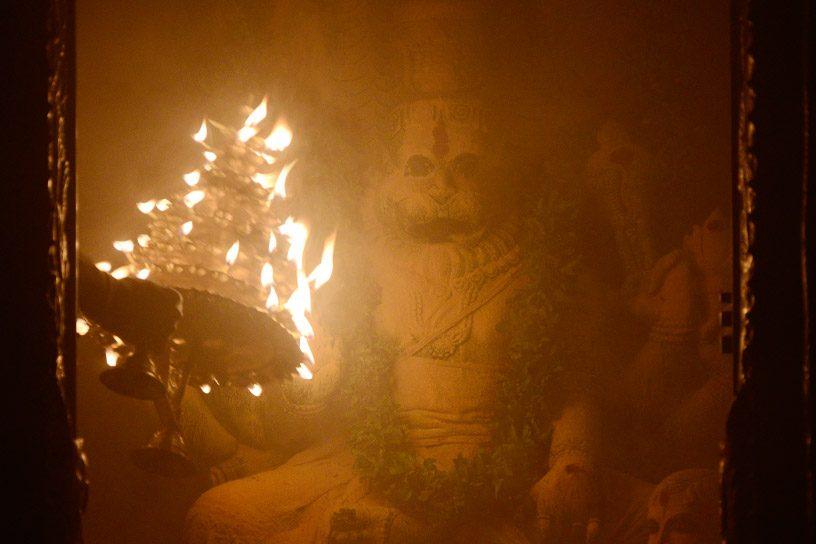 Arati to Lord Narasimha