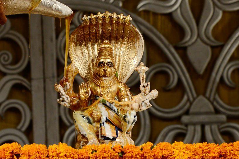 Utsava Deity of Lord Narasimha