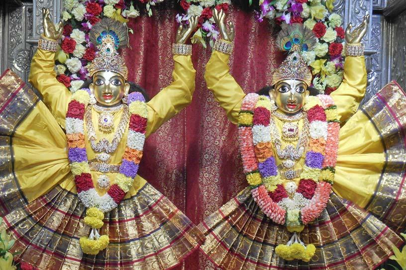 Sri Gaura Purnima Visesha alankara