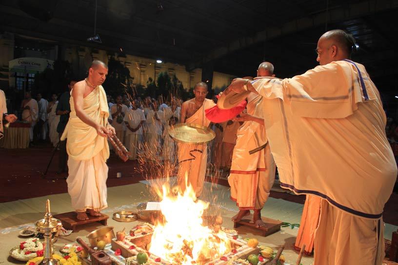 Rama Taraka Yajna - Purnahuti