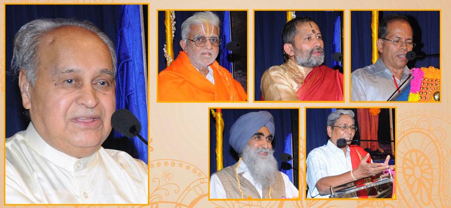 scholars present in the veda samvada