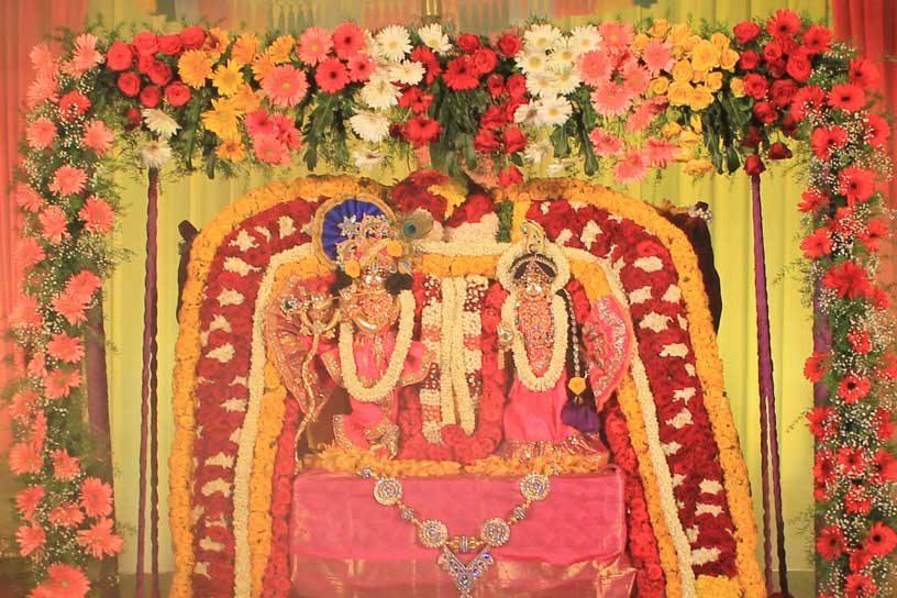 Jhulan Utsav Vishesha Alankara