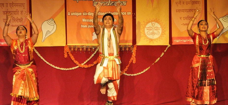 dance performance based on upanishads