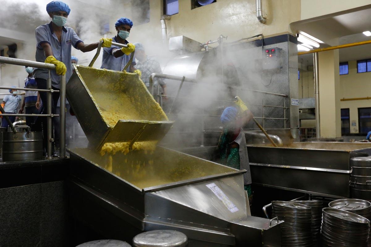 rice and khichdi chute