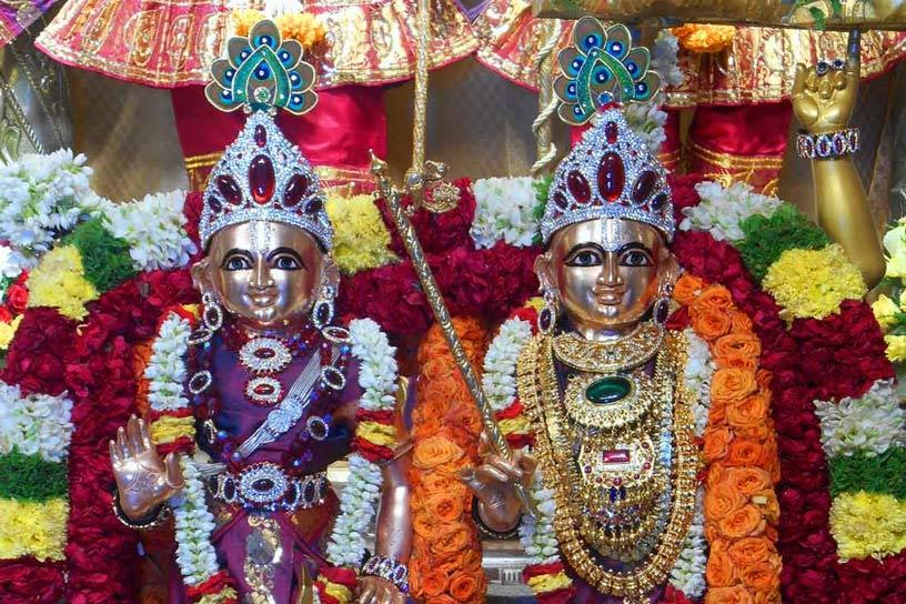 Krishna Balarama Giridhari Alankara