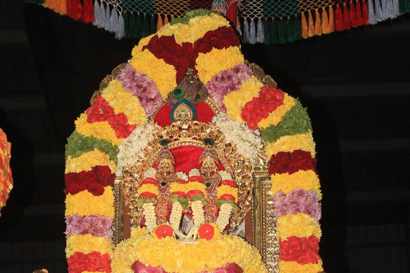 Govardhana Puja Pallakki