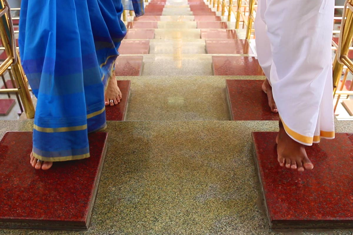 Harinama Mantapa 108 steps
