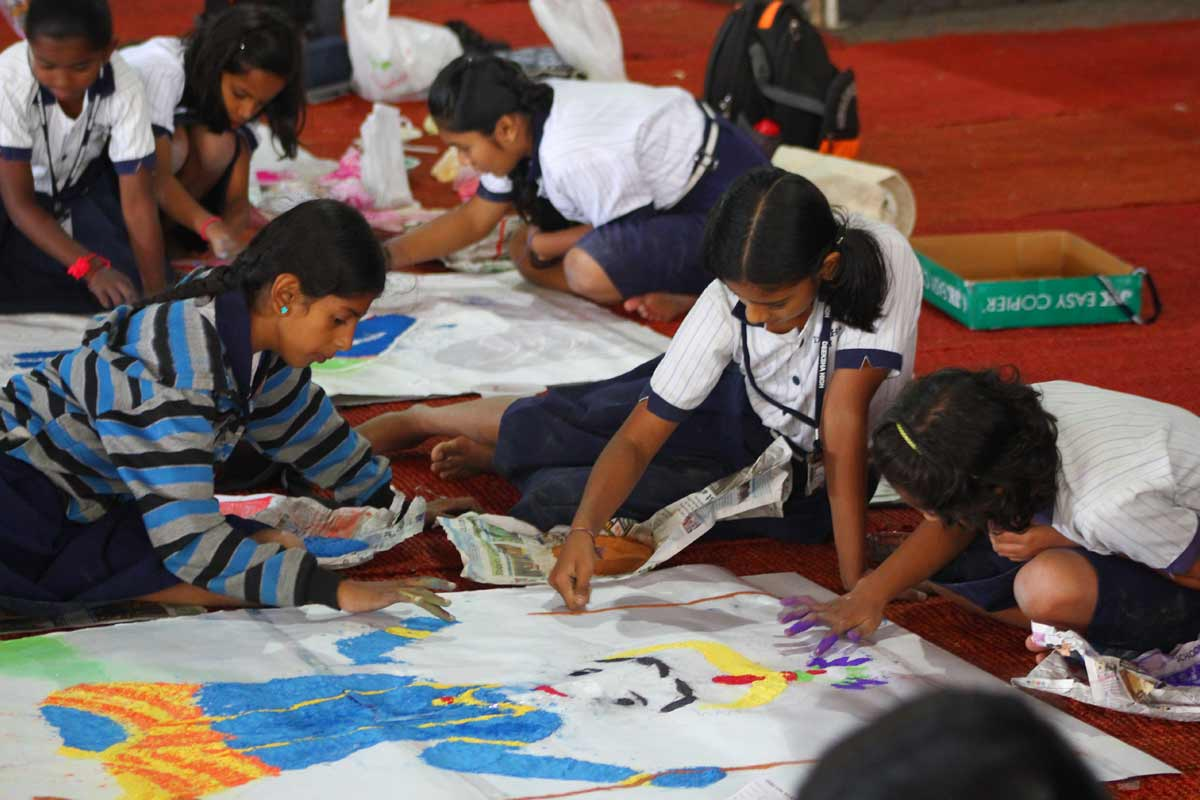 Pushpalankara and Rangoli contest
