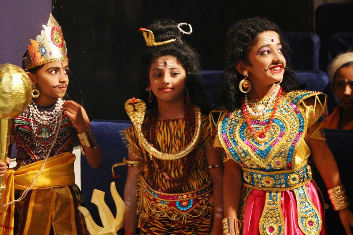 Puranic Costumes contest