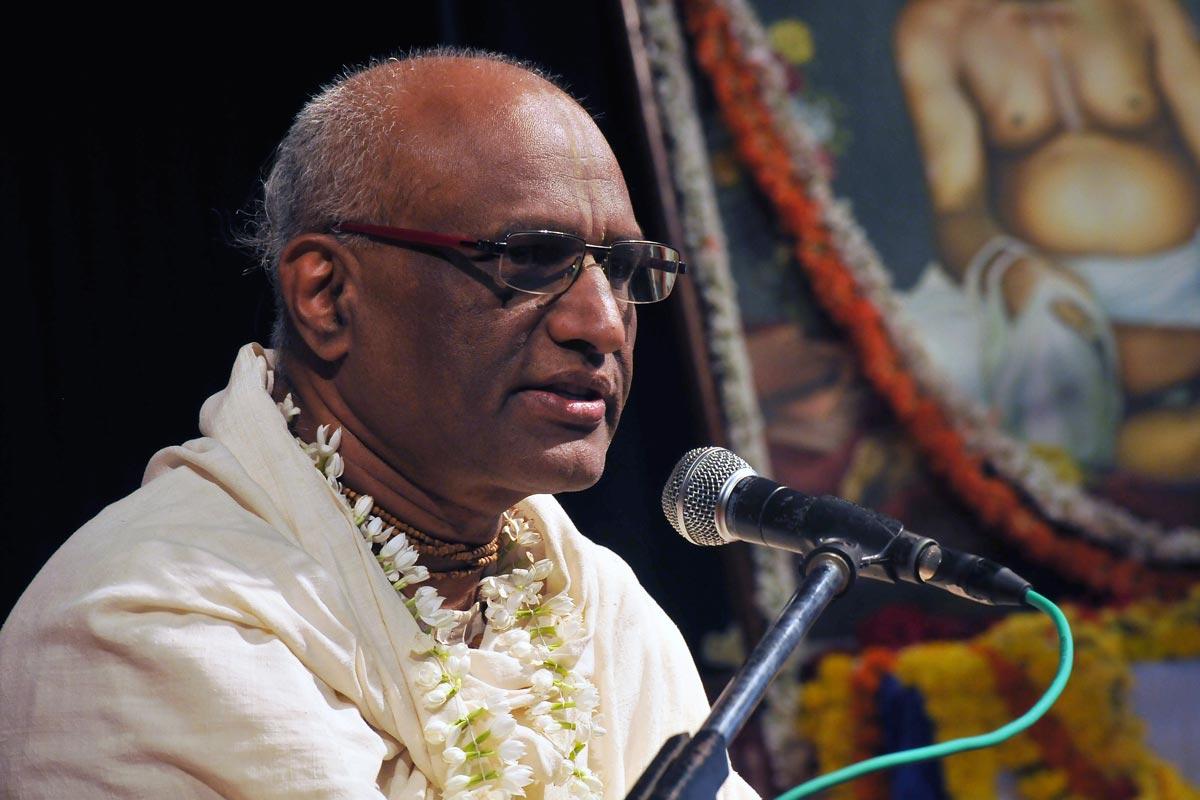 President ISKCON Bangalore