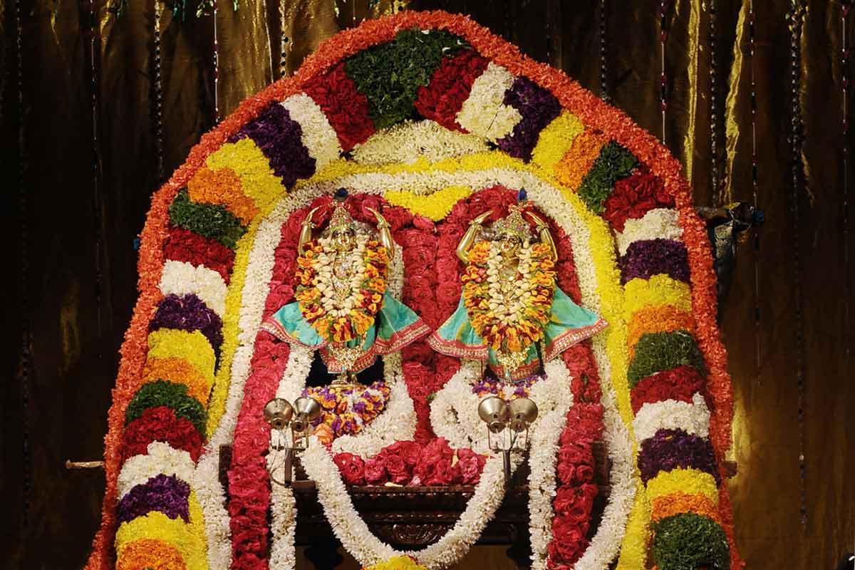Sri Nitai Gouranga Utsava deities