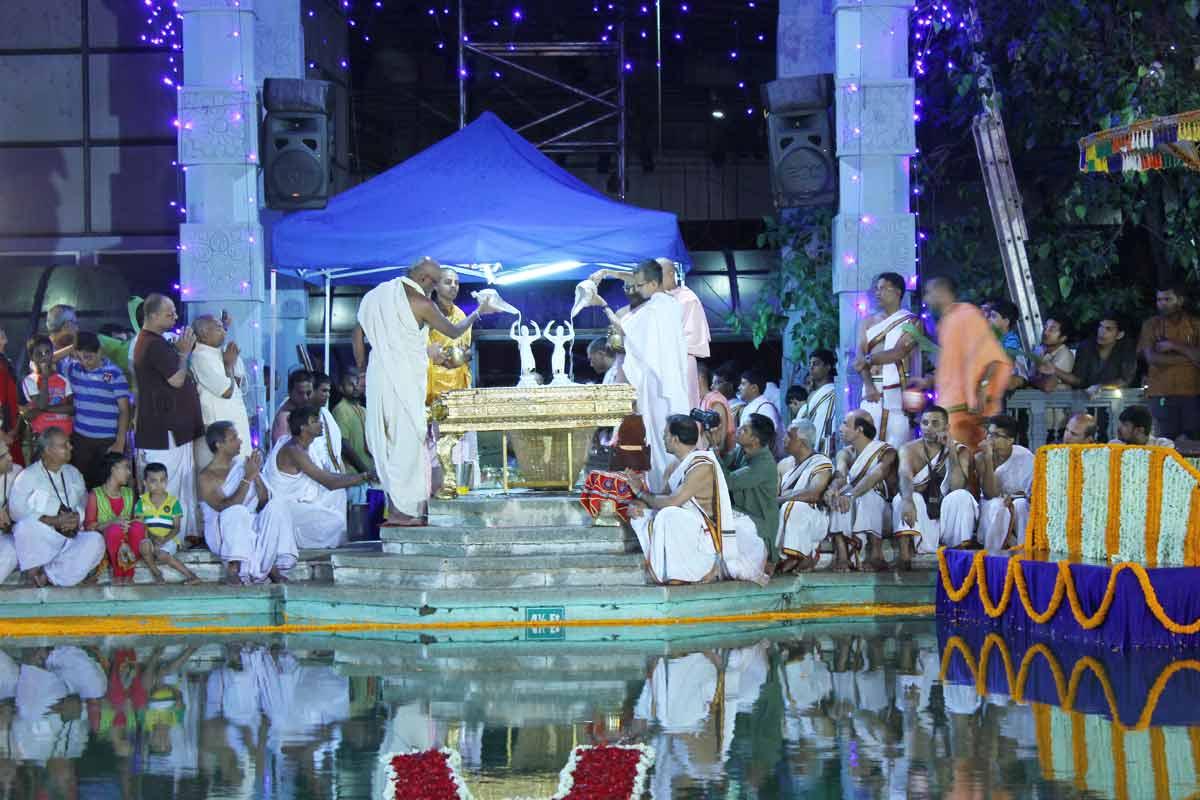 Sri Sri Nitai Gauranga Abhisheka
