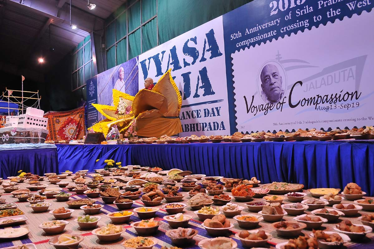 Vyasa Puja Special offerings