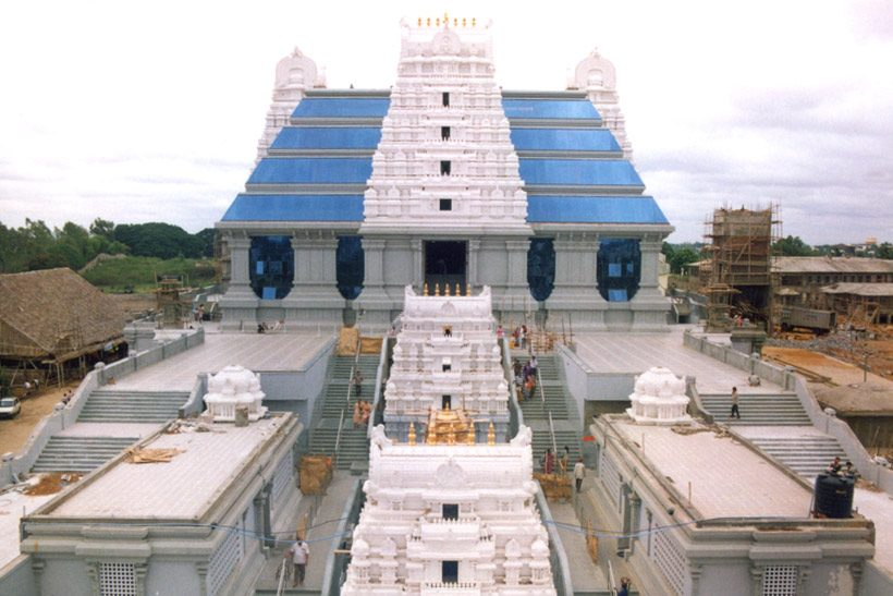 Sri Radha KrishnaTemple Temple Construction