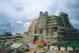 sri radha krishna temple construction