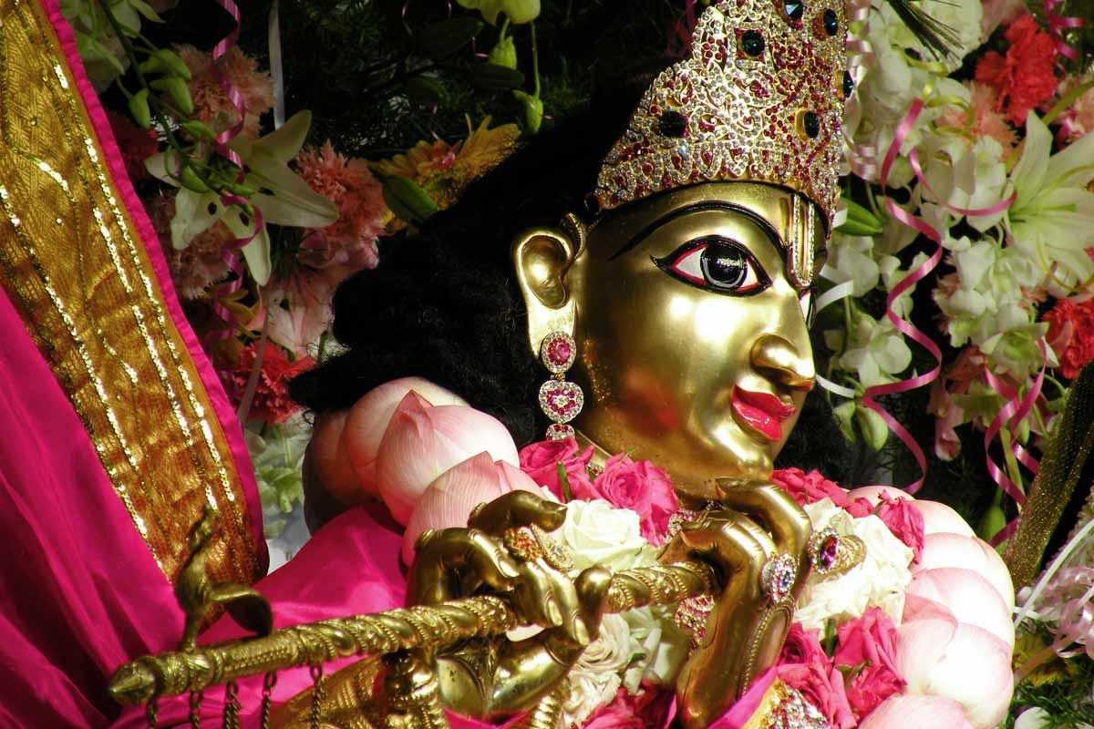 Sri Krishna - Side View