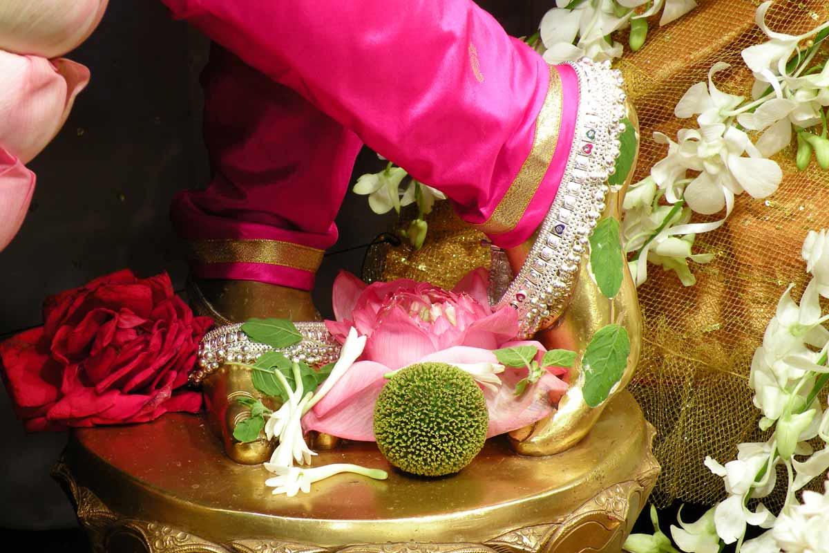 Lotus Feet of Lord Krishna