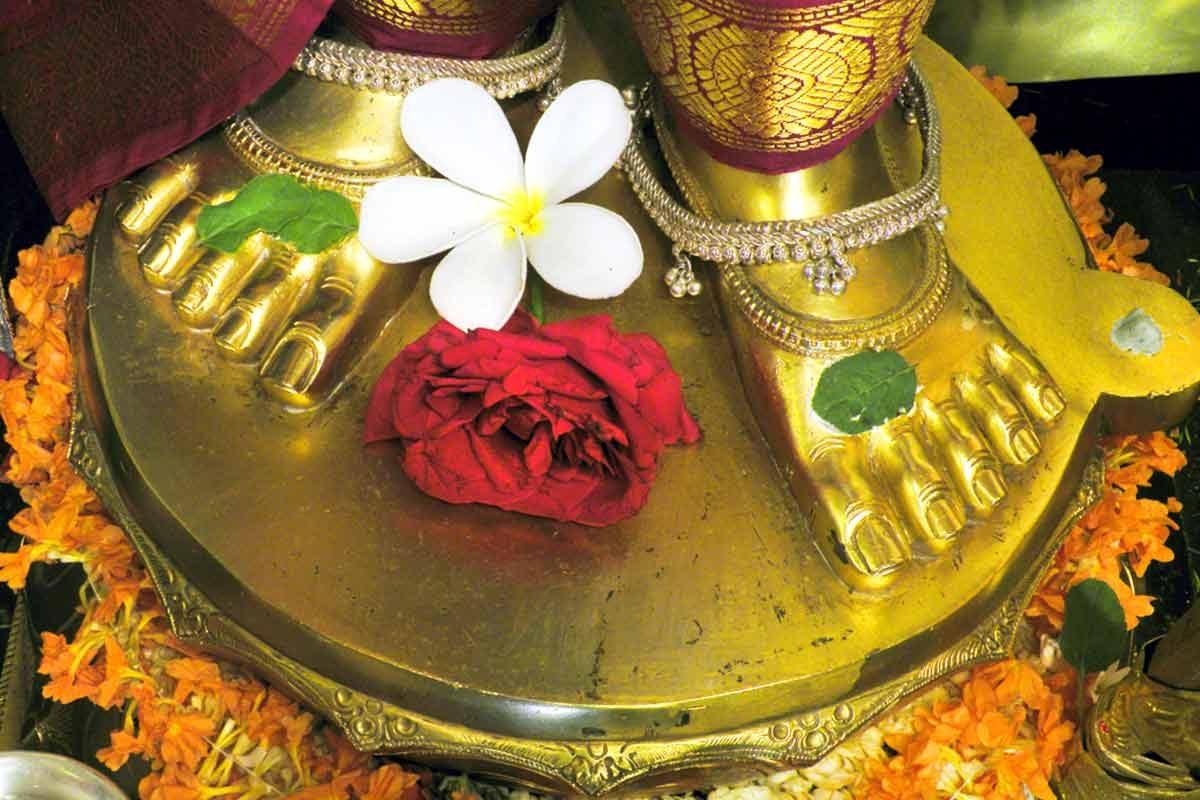 Sri Krishna's Lotus Feet