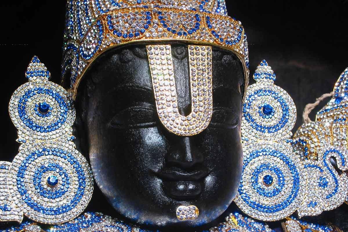 Sri Srinivasa Govinda Face