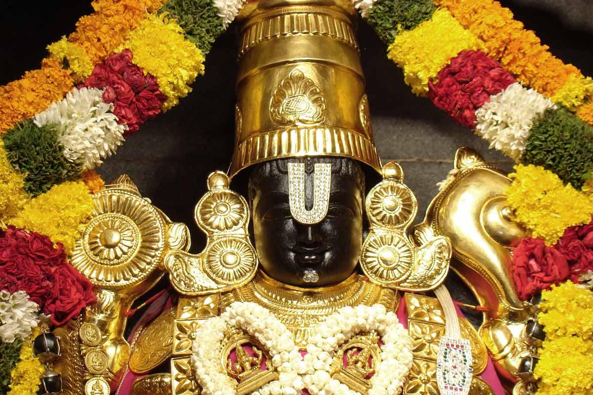 Sri Srinivasa Govinda  Iskcon  Bangalore Deity