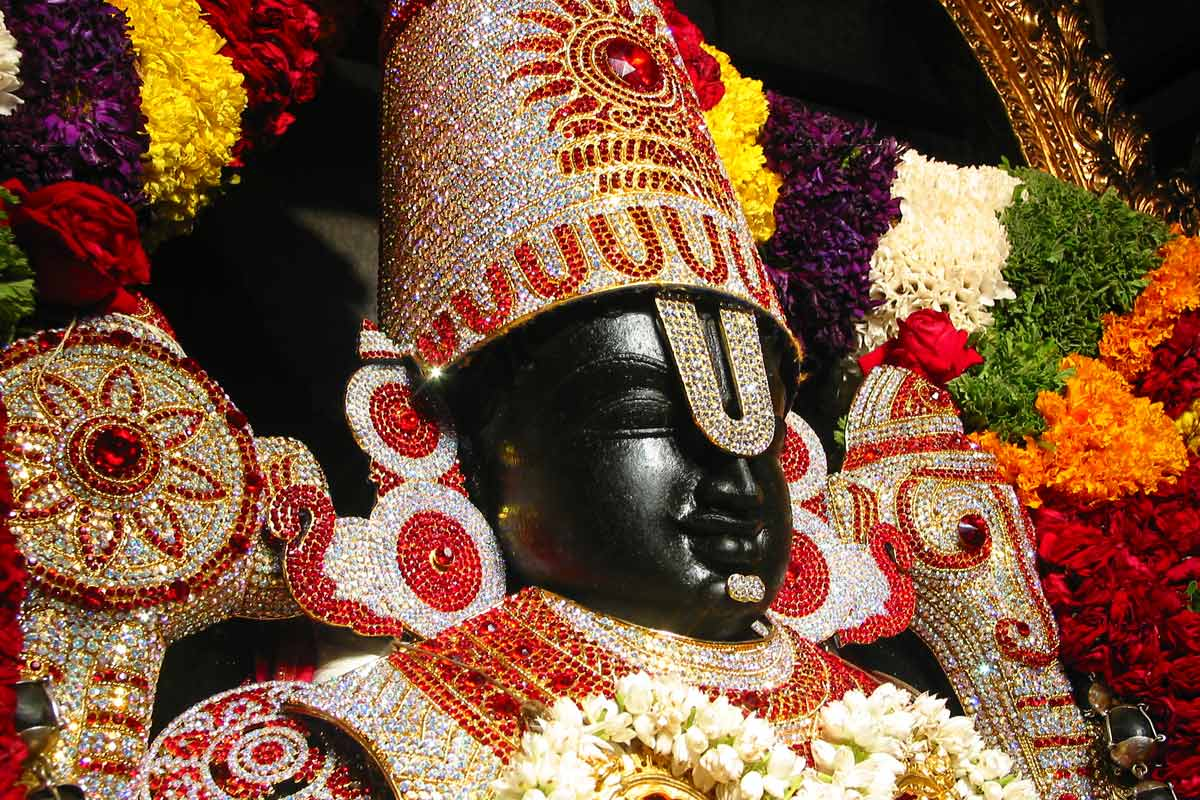 Sri Srinivasa Govinda - Side View