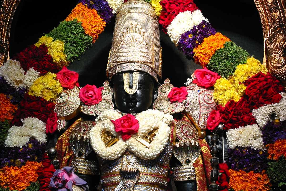 Sri Srinivasa Govinda in Special Alankara