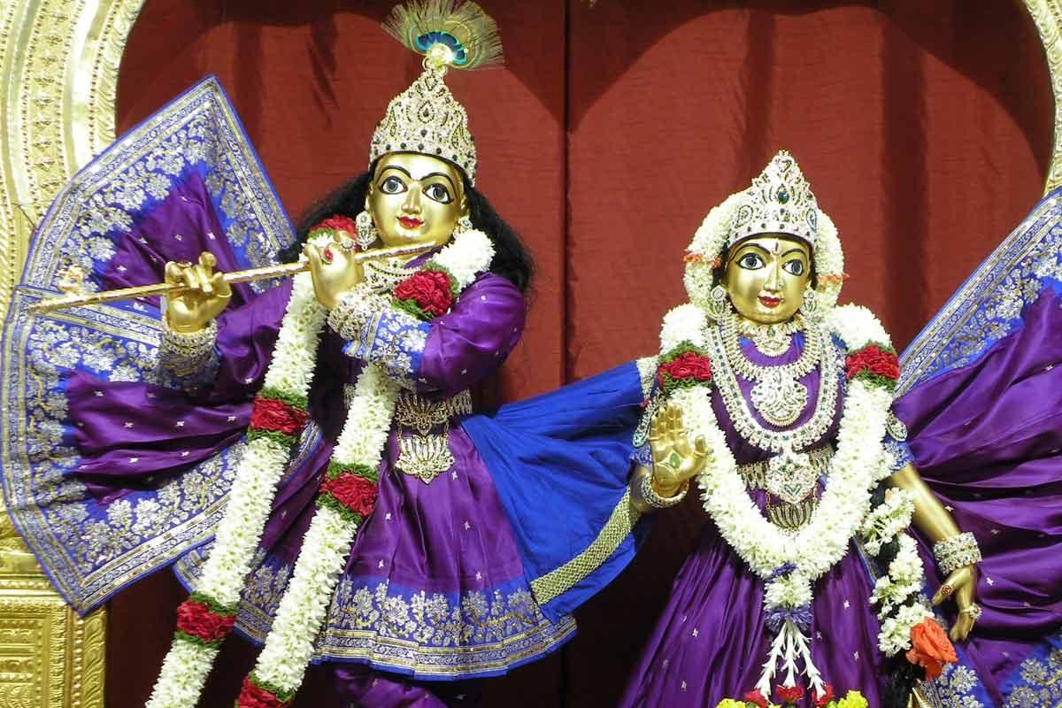 Sri Radha Krishnachandra – Vaikuntha Hill