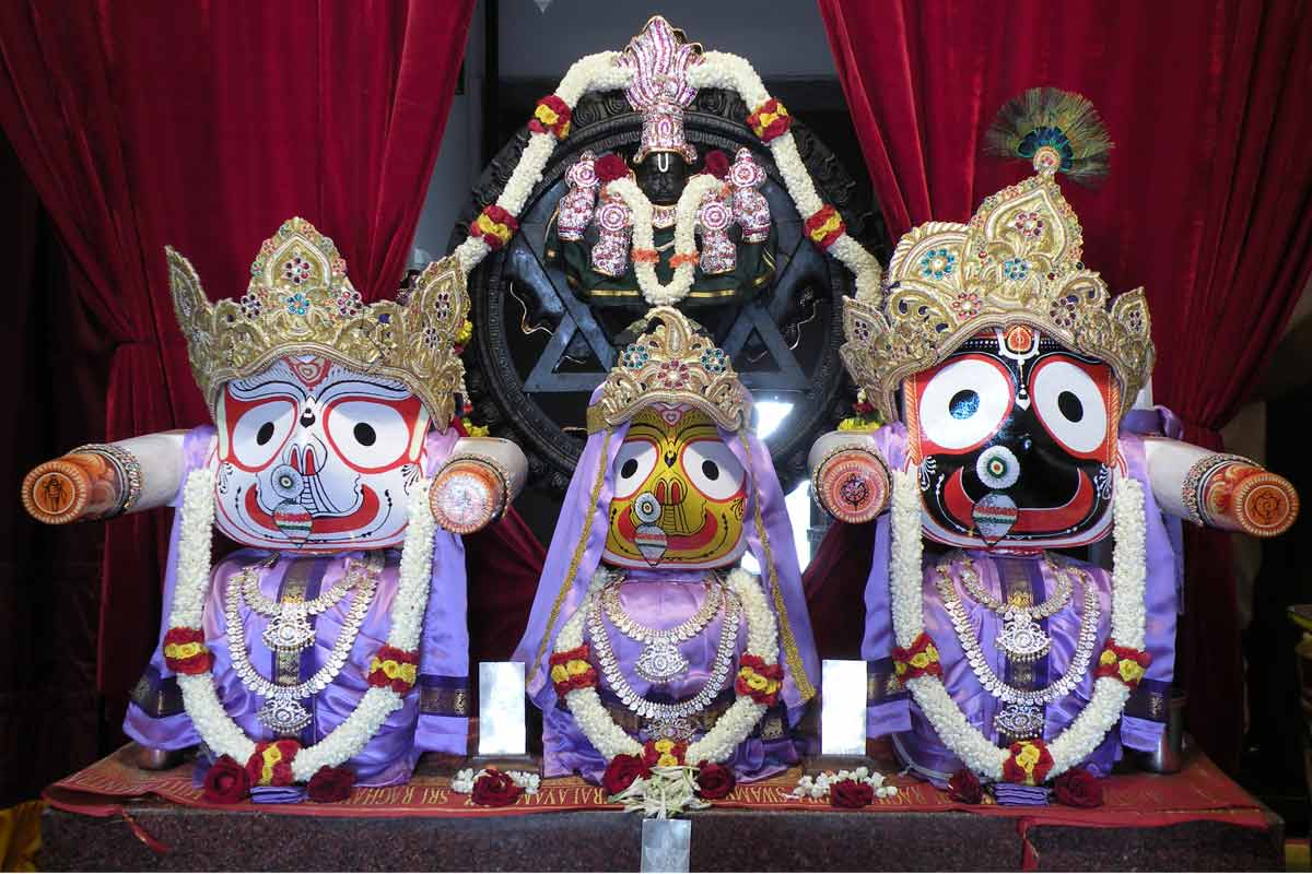 Sri Jagannatha, Baladeva and Subhadra