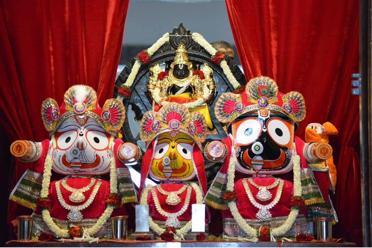 Sri Jagannatha Baladeva Subhadra and Sri Sudarshana Narasimha