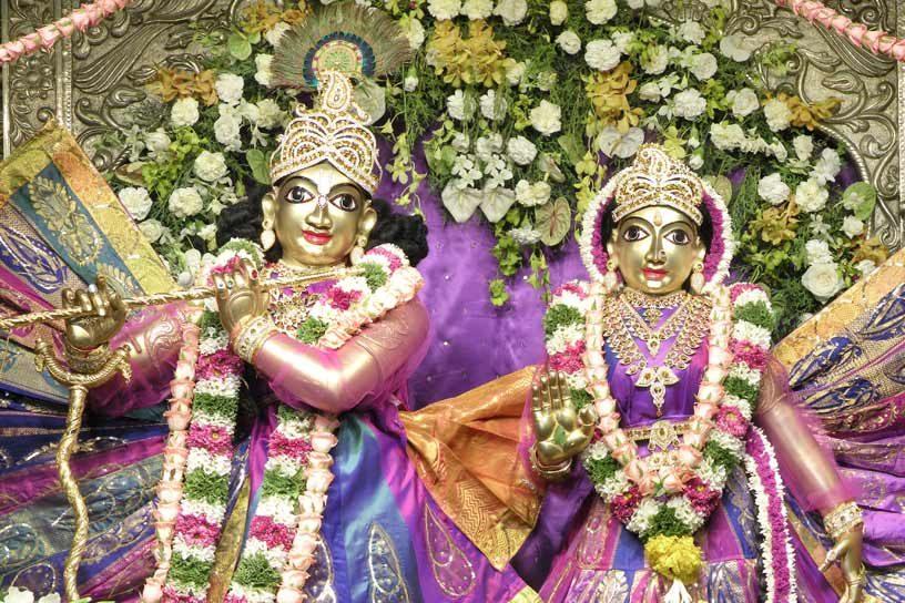Radhastami special darshan