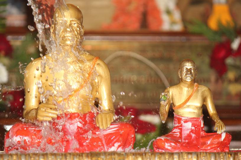 Vyasa Puja Abhisheka